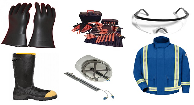 Safety Equipment For Electricians In London